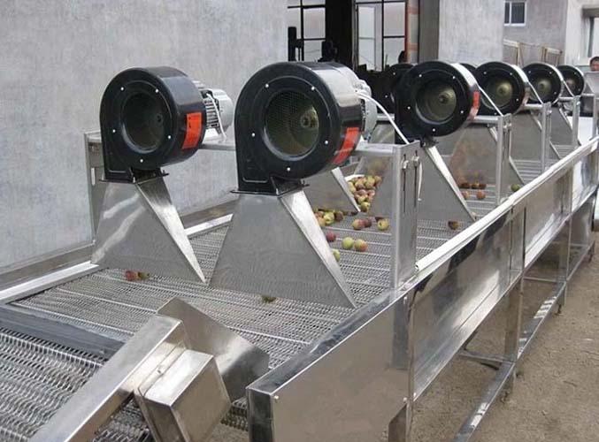 air dryer machine for peach