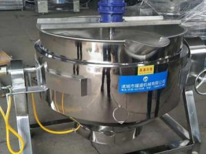 display for jacketed kettles