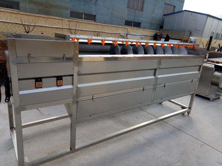 fish washing and peeling machine