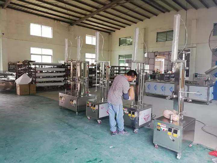 Electric fruit peeler factory