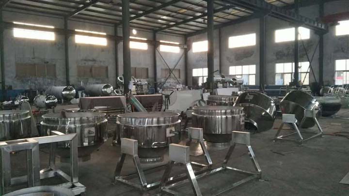 jacketed pan manufacturing plant