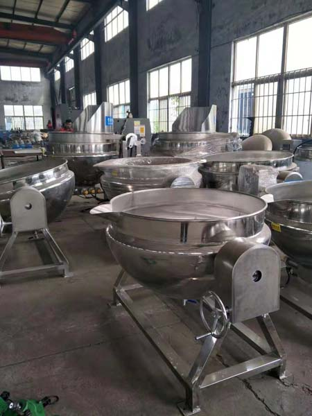 jacketed pan in stock