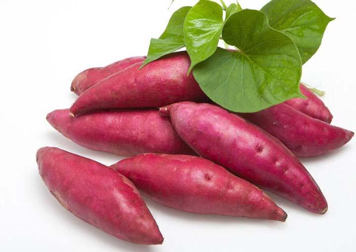 sweet potato dicing