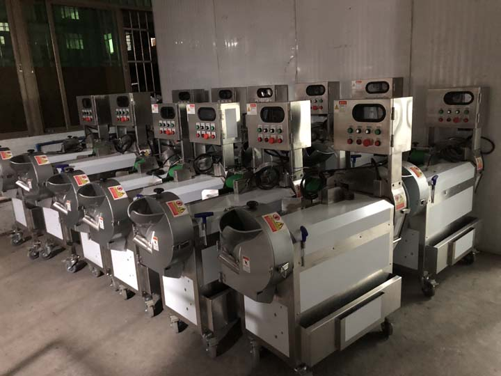 vegetable and fruit cutter machine workshop