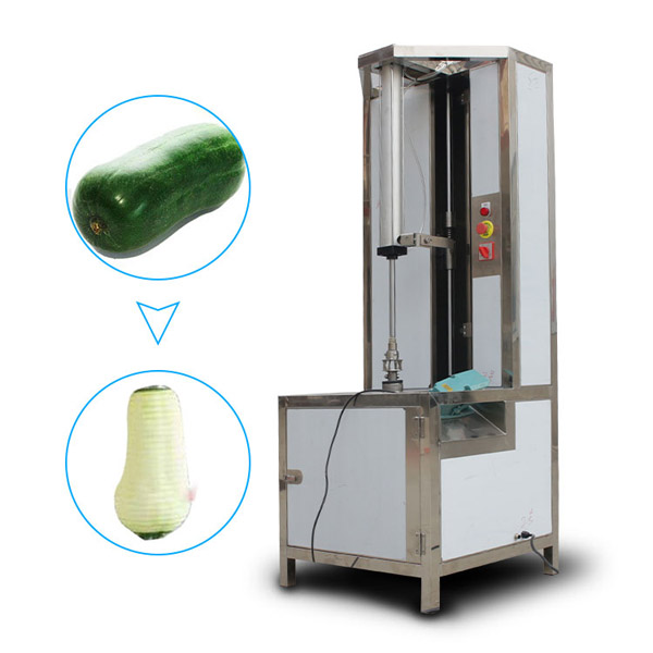 commercial waxgourd peeling machine