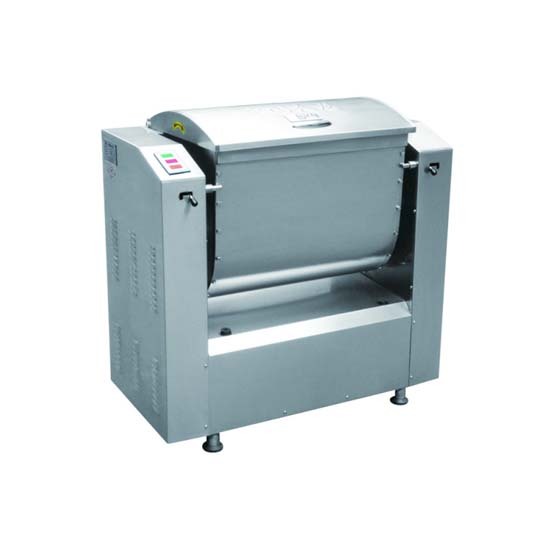 Dough kneading machine structure display