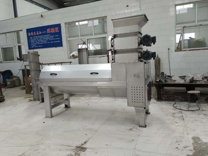 Pomegranate Peeling machine with double crusher