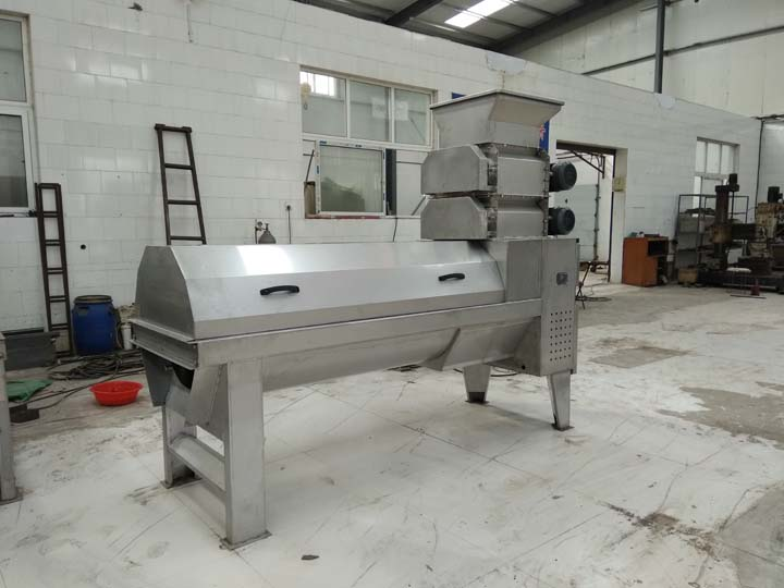 Pomegranate Peeling machine with double crusher1