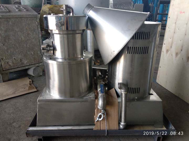 colloid mill for shipping