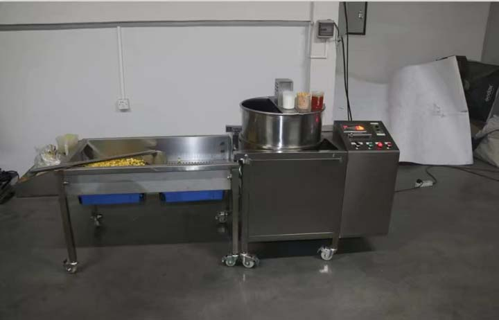 commercial popcorn production
