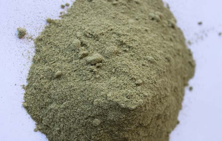 dry herbal powder