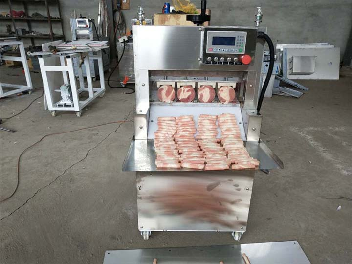 four-rolls meat slicer