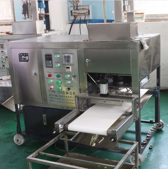 hydraulic fried dough twist machine