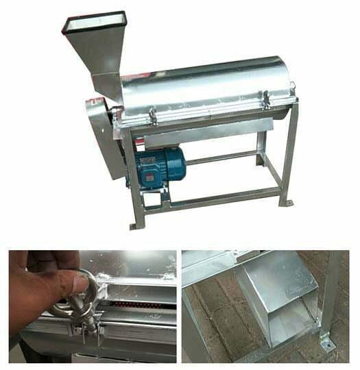 machine details of the fruit pulper