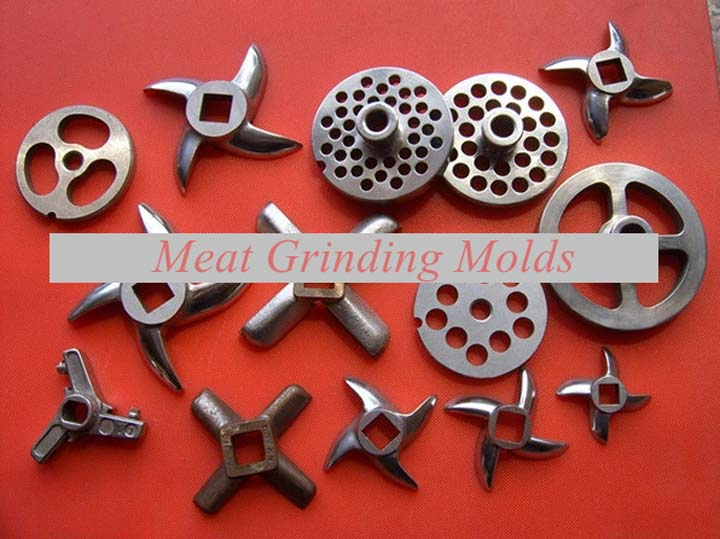 meat grinding molds