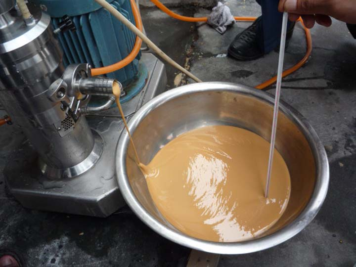 peanut butter making