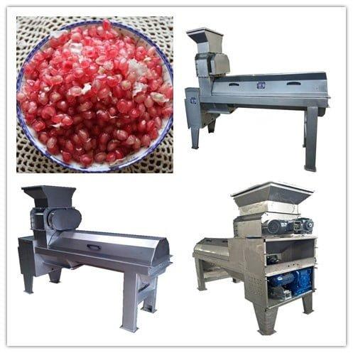 pomegranate peeling machine for sale