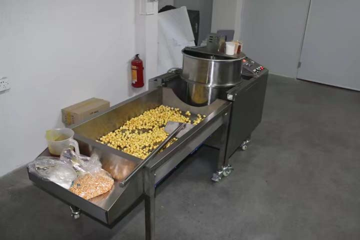 popcorn production