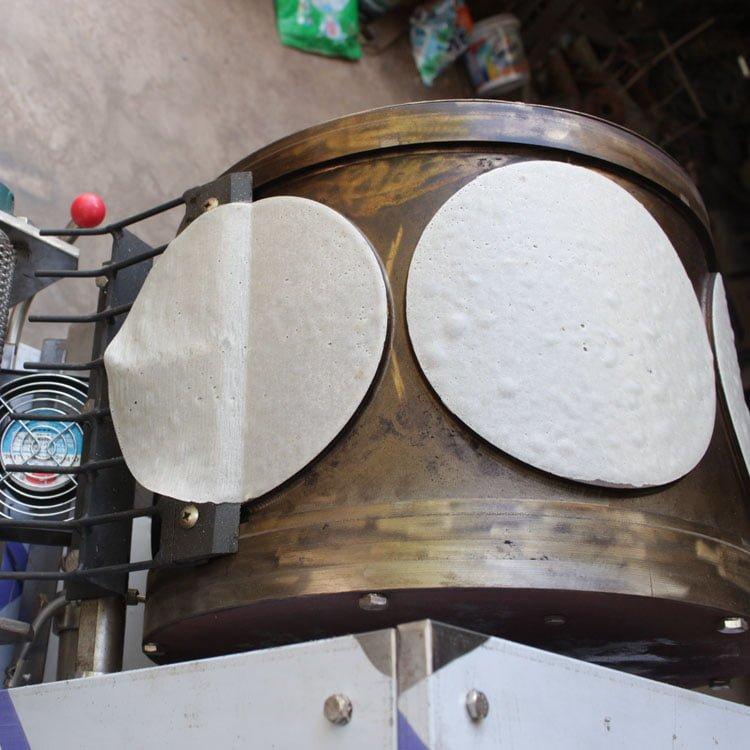 rotary heating barrel
