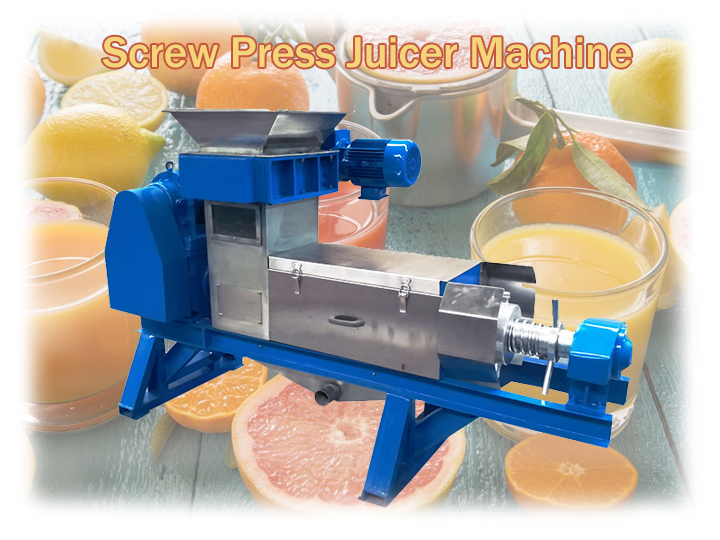 screw press juicer machine