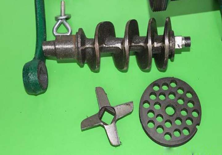 spare parts of meat grinder