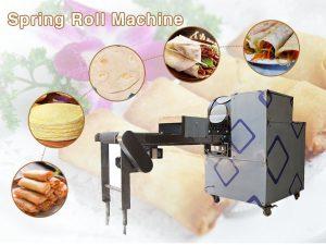 Spring-roll-machine