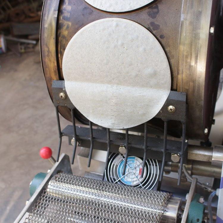 spring roll sheet making