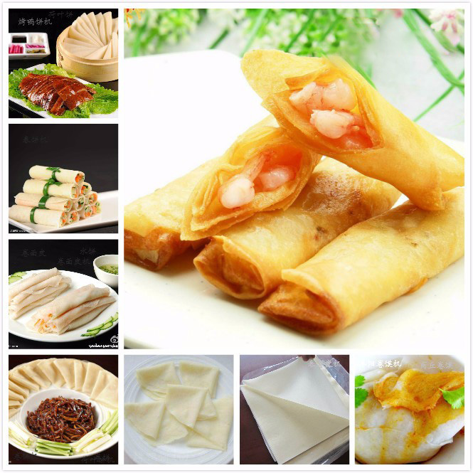spring roll sheets use