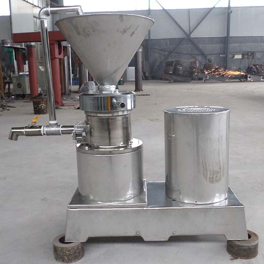 Stainless peanut butter machine