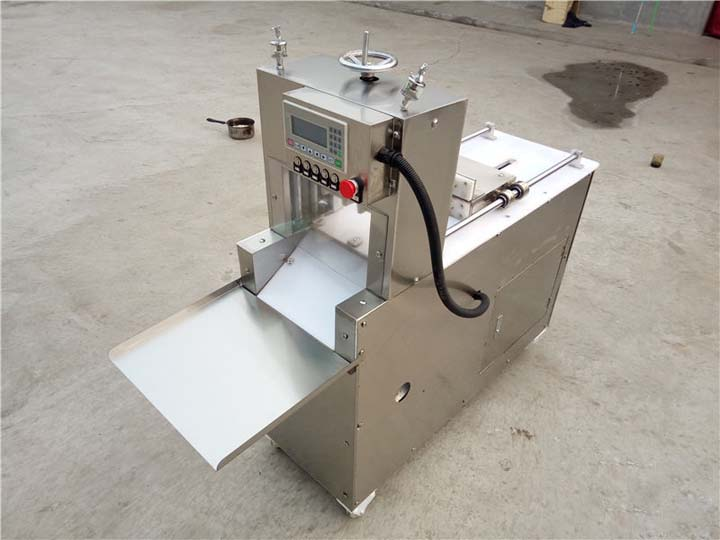 two-rolls meat slicer