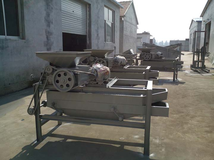 almond sheller machine in stock