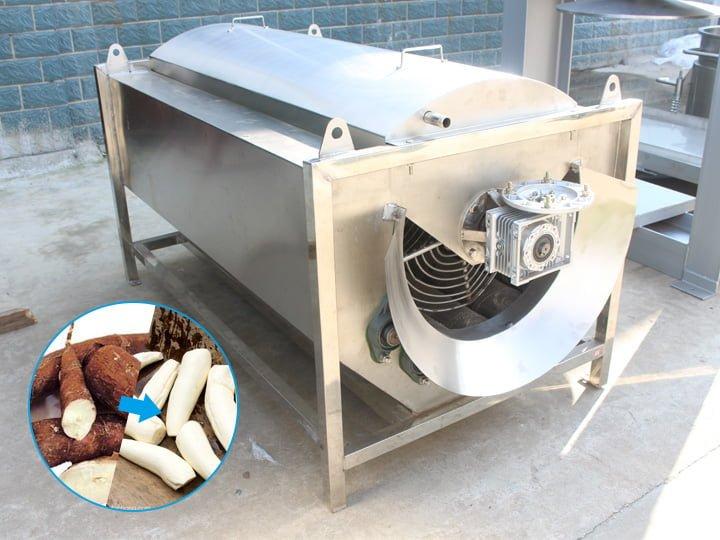 cassava washing equipment