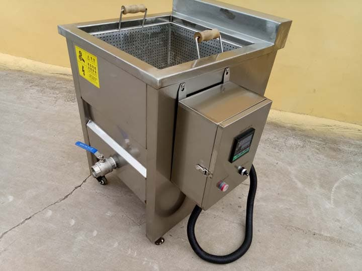 food fryer with electric heating