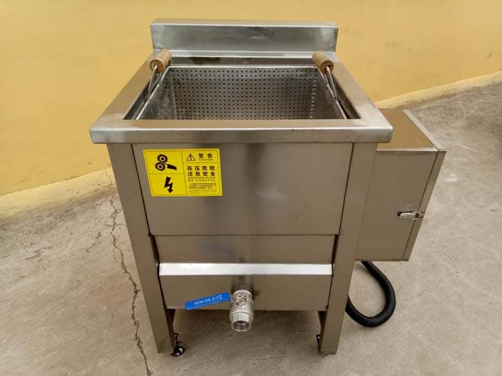 electric type frying machine