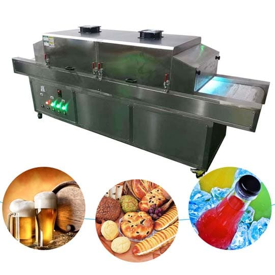 commercial uv food sterilizer applications