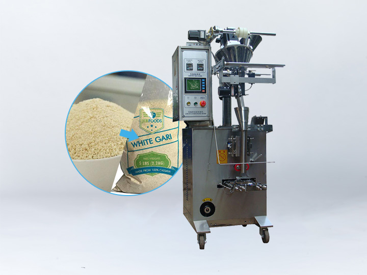 garri packing machine
