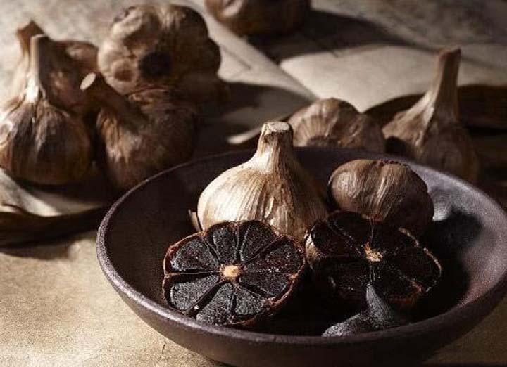 made by the black garlic machine