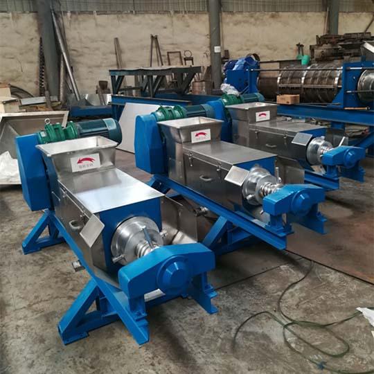 screw press juicer machine factory stock
