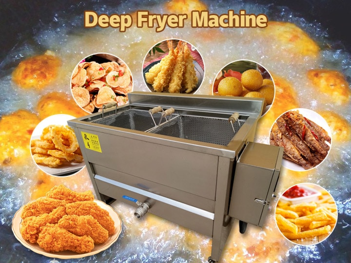 small deep fryer machine