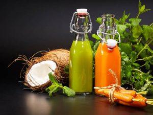 vegetable juices production