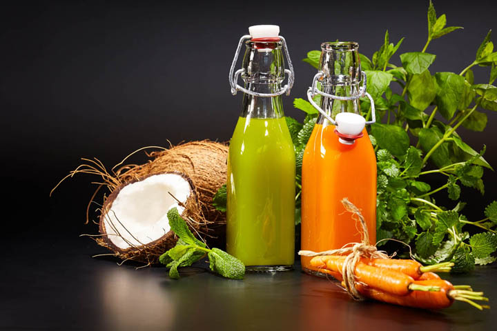 vegetable juices production