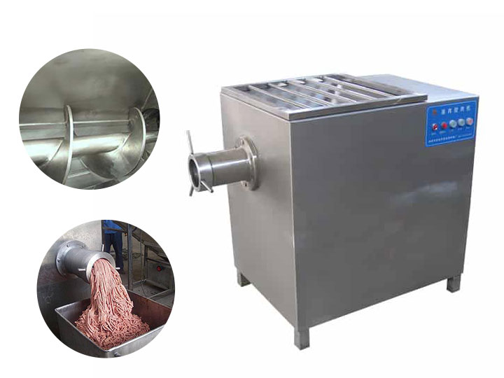 Meat cutting and meat grinding