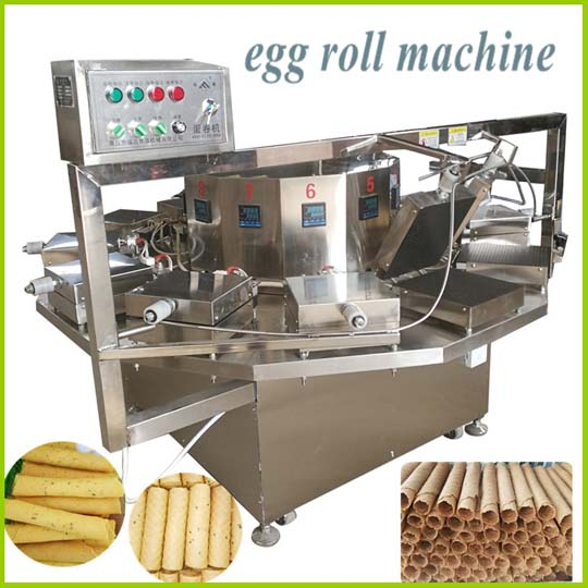 automatic egg roll machine