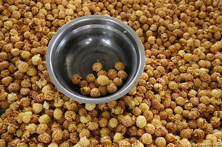 ball shape popcorn