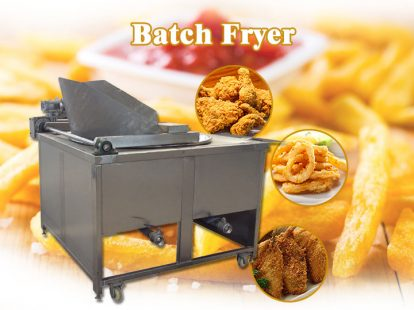 commercial batch fryer