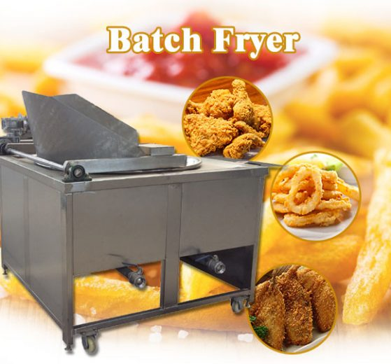 commercial batch fryer