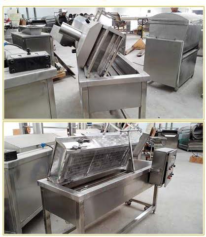 deep fryer machine structure