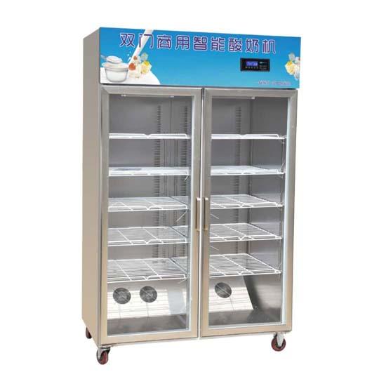 double-chamber yogurt maker