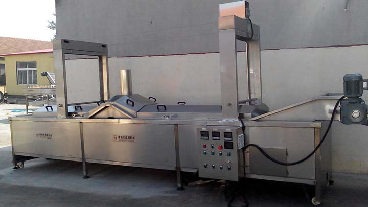electric continuous fryer