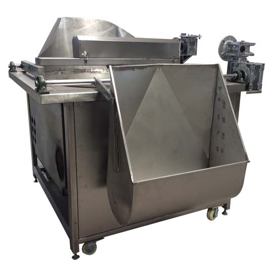 fryer machine with automatic feeding